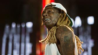 NEW ORLEANS, LA - AUGUST 27:  Dwayne Michael Carter, Jr. aka Lil Wayne performsq at Champions Square on August 27, 2016 in New Orleans, Louisiana.  (Photo by Erika Goldring/Getty Images)
