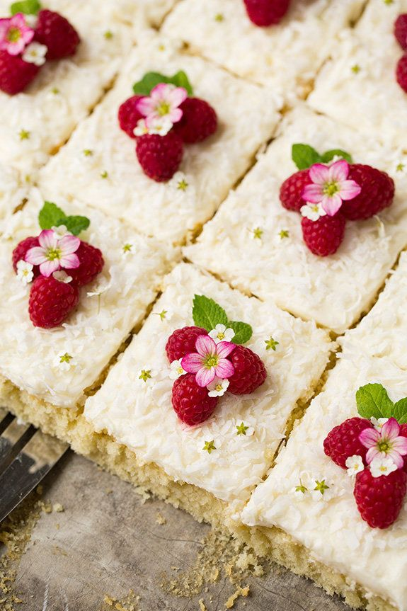 "<strong>Get the <a href=""http://www.cookingclassy.com/2016/04/coconut-sheet-cake/"" target=""_blank"">Coconut Sheet Cake</a>&nbs"
