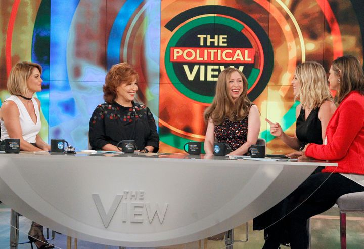 "Chelsea Clinton on ""The View."""