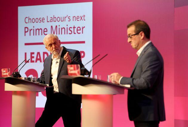 (Left) Jeremy Corbyn and Owen