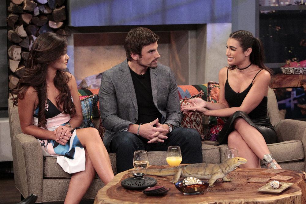 "Caila Quinn, Jared Haibon and Ashley Iaconetti reunite on ""After Paradise."""