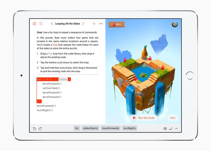 Apple's New App Teaches Kids To Code By Making It Fun | HuffPost