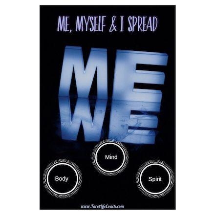 Me, Myself & I Spread created by Tonya Melendez