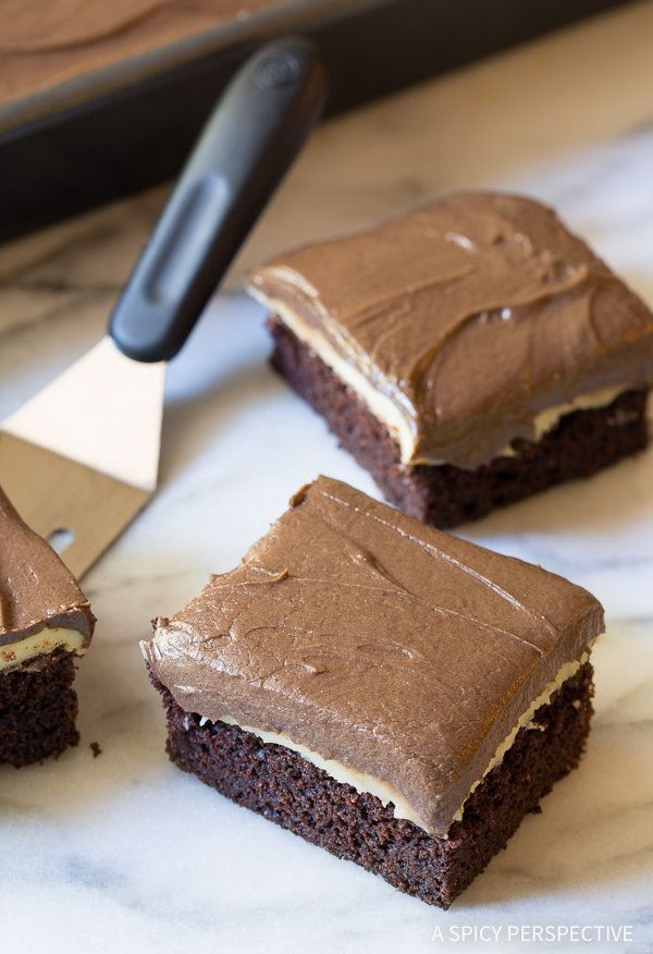 """<strong>Get the <a href=""""http://www.aspicyperspective.com/chocolate-mint-texas-sheet-cake/"""" target=""""_blank"""">Chocolate Mint Te"""