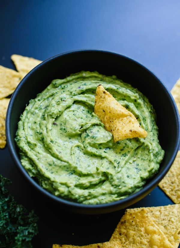 "<strong>Get the <a href=""http://cookieandkate.com/2016/kale-guacamole-recipe/"" target=""_blank"">Kale Guacamole recipe</a>&nbsp"