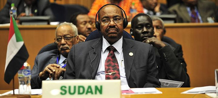 Sudan President, Omar Hassan Ahmad al-Bashir.
