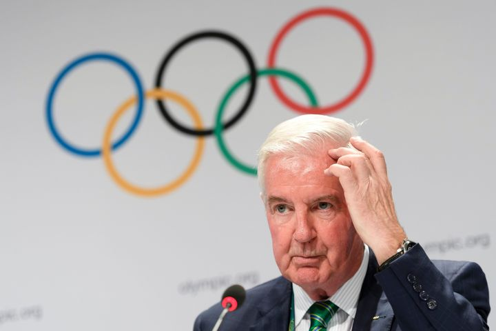 Craig Reedie is president of the World Anti-Doping Agency. WADA said it is reaching out to the national anti-doping organizat