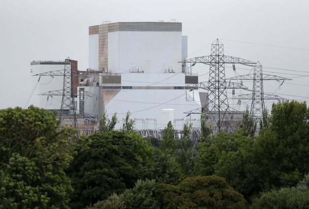 The Hinkley Point B power station in