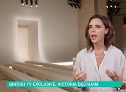 Victoria Beckham Reveals Harper Wears (And Runs In) High Heels