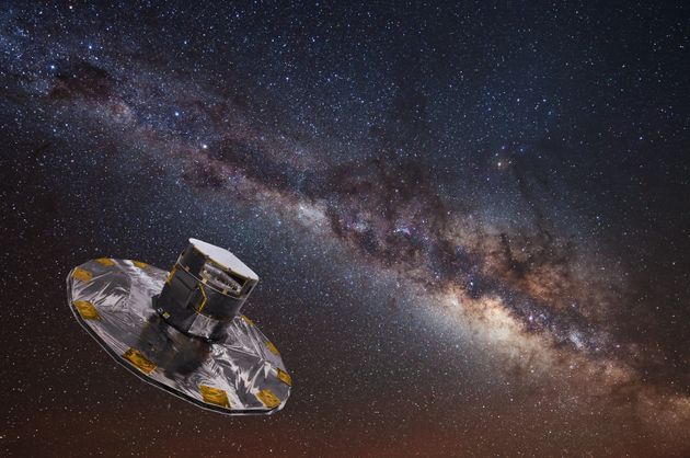 Gaia Space Telescope Is The First To Map Over A BILLION