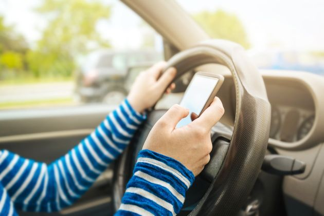 The Number Of Brits Using Their Mobiles While Driving Has