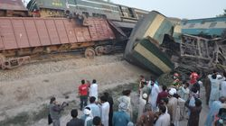 Train Crash In Pakistan Kills At Least Four And Injures