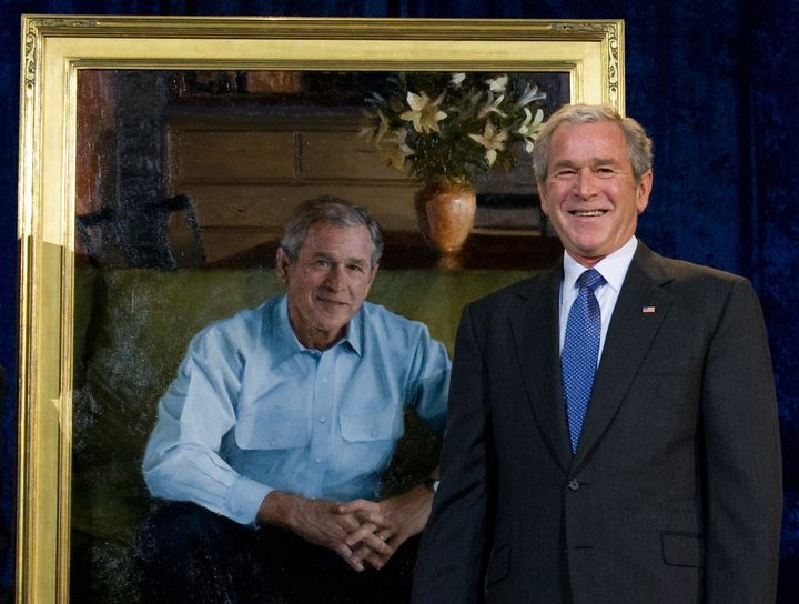 George W  Bush To Release An Art Book, Because 2016 Is A