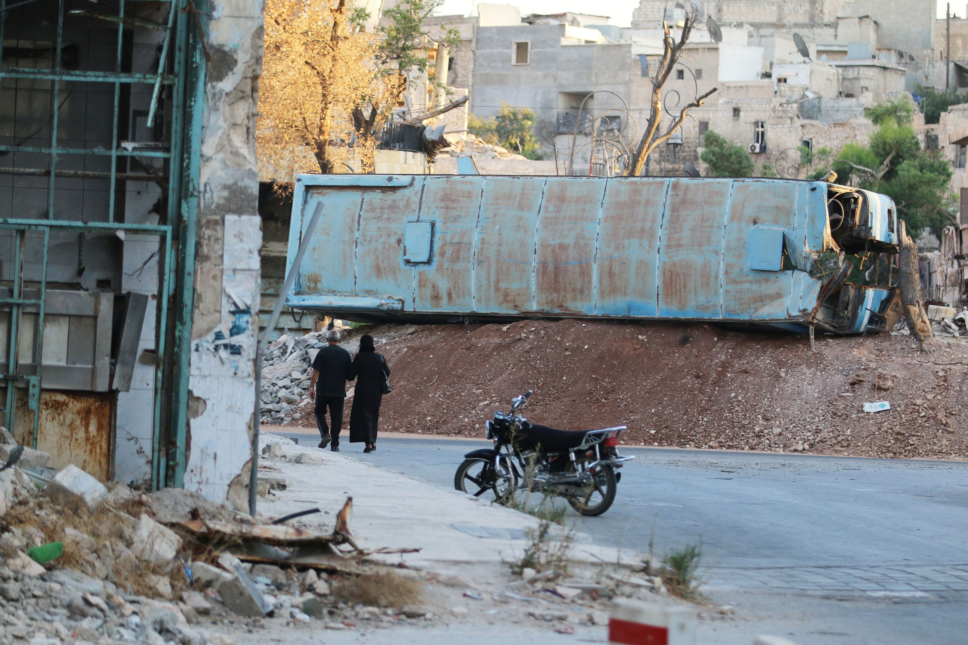 Syria Ceasefire Deal Put To The Test As Government Forces Block Aid To