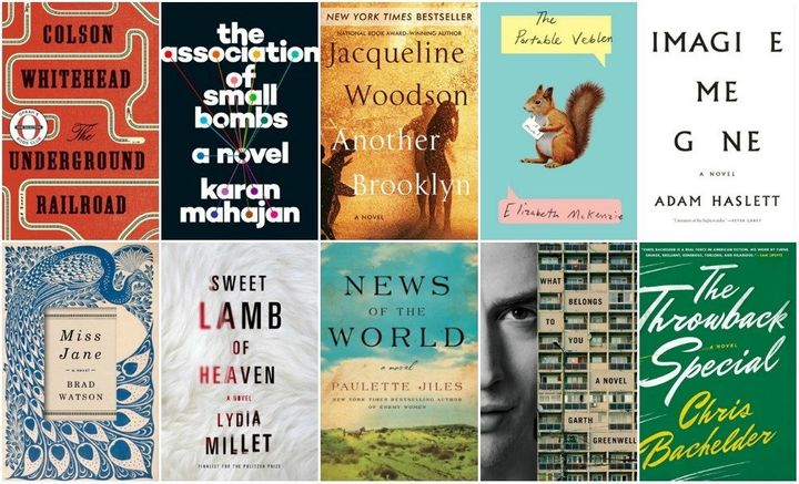 The National Book Award Fiction 2016 longlist, announced on September 15.