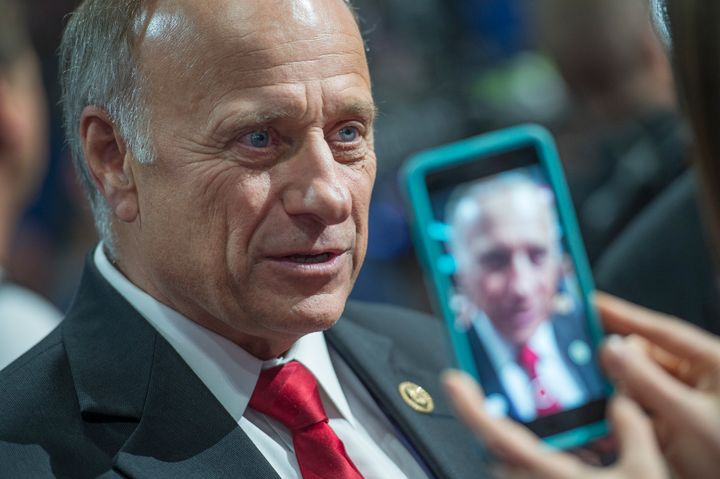 "Rep. Steve King (R-Iowa) said 49ers quarterback Colin Kaepernick should be fired and that his ""activism is sympathetic t"