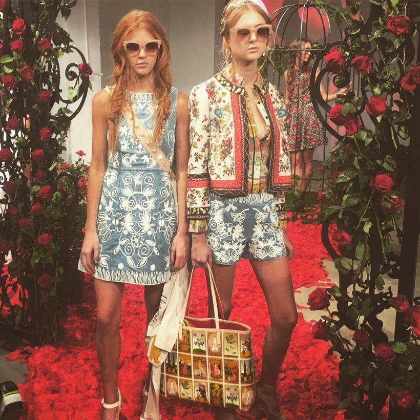 Alice + Olivia Spring 2017 Presentation at NY Fashion Week