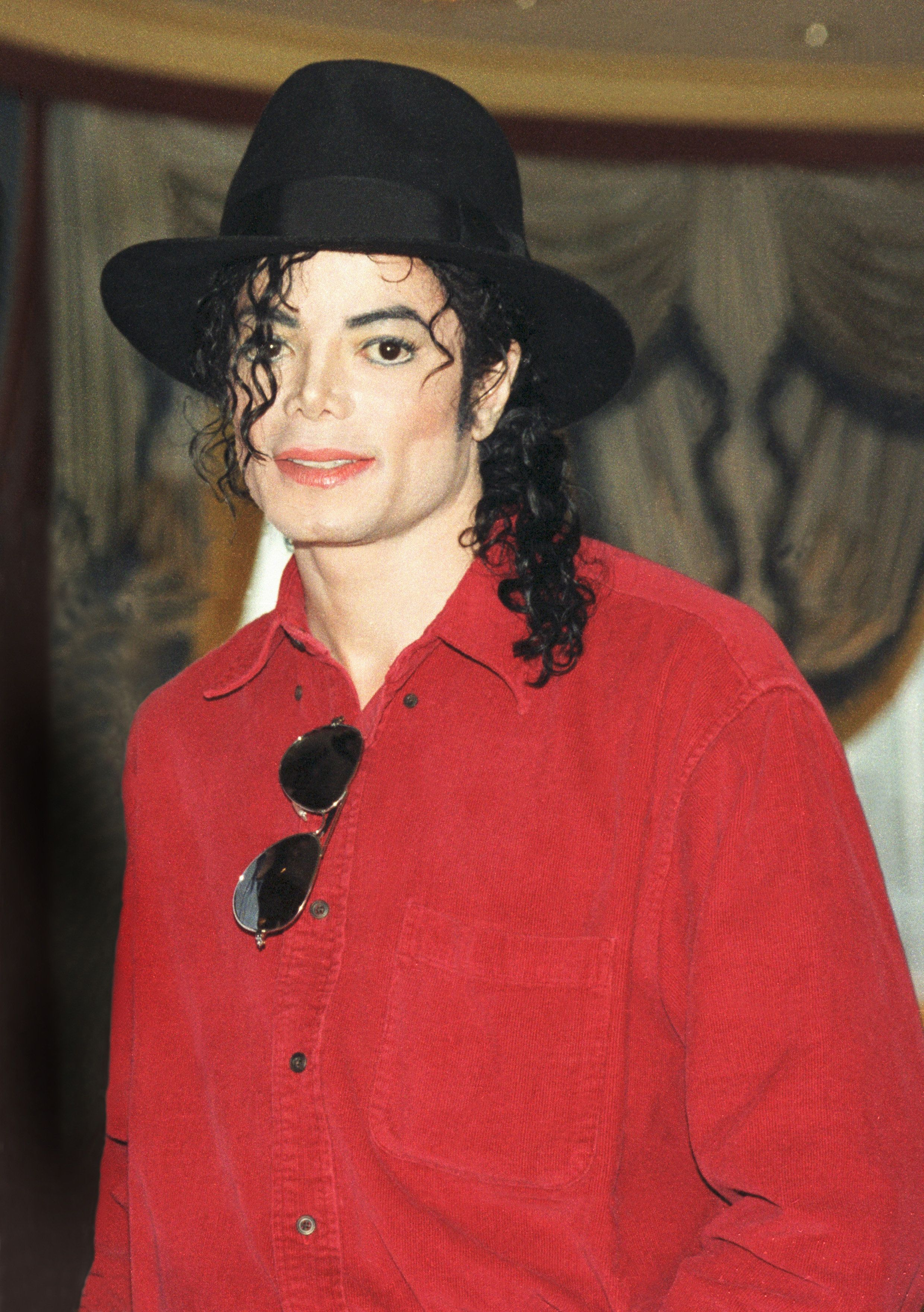 Michael Jackson in 1996.