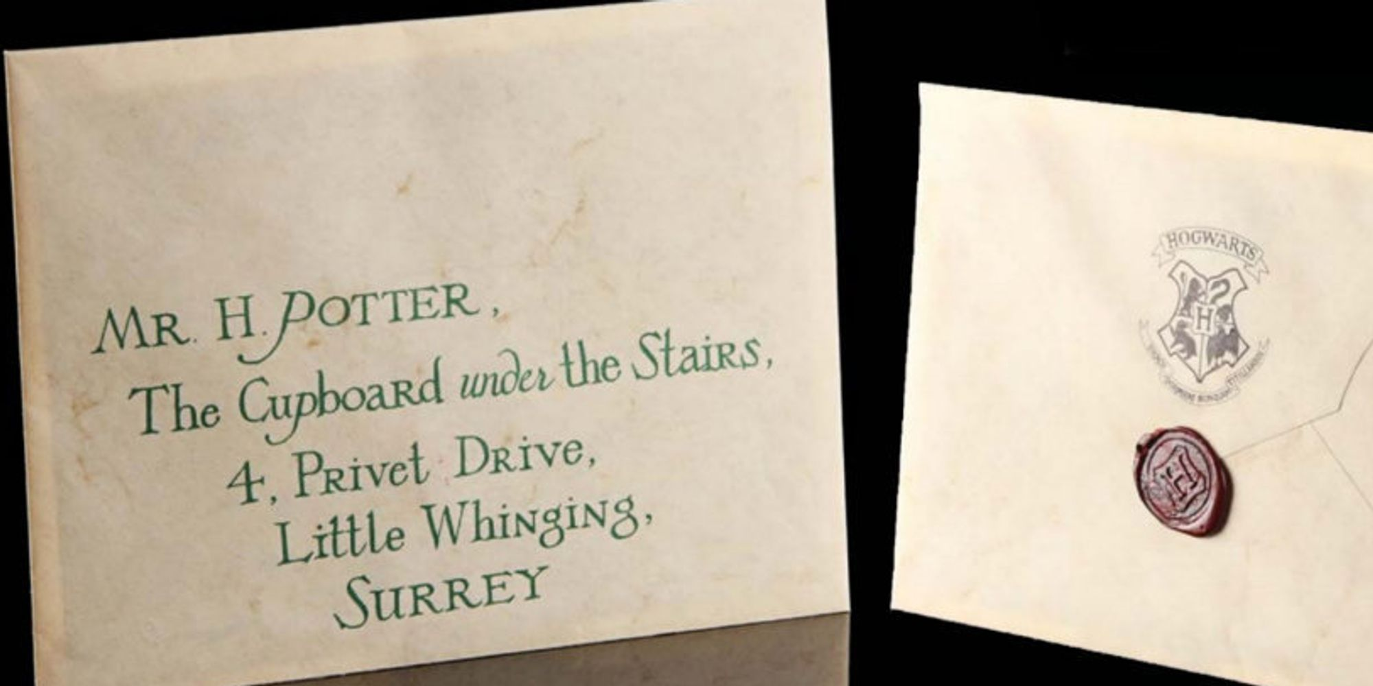 harry potter letter 2 harry potter s hogwarts letter and other props could 1276