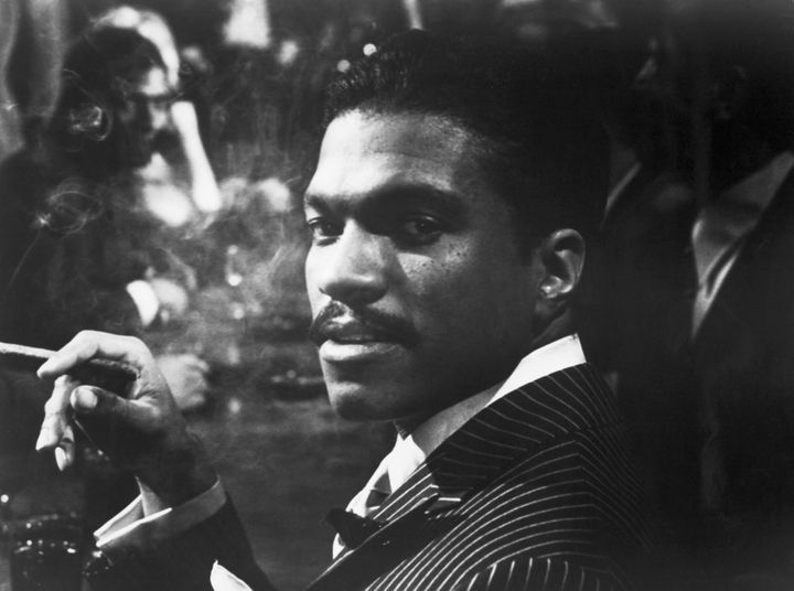 """Billy Dee Williams in the 1972 film, """"Lady Sings the Blues."""""""