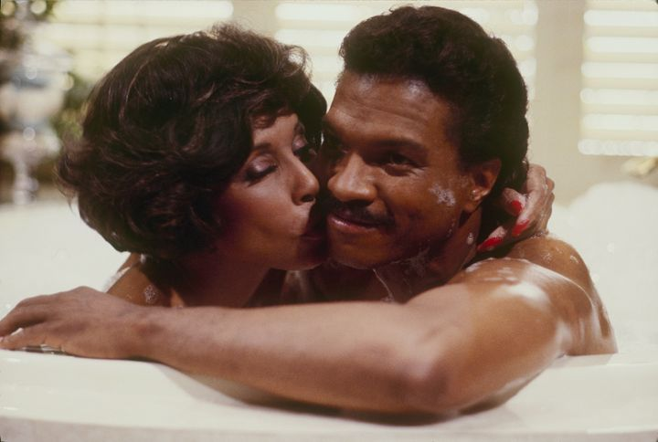 """Diahann Carroll and Billy Dee Williams in the1980s prime-time soaps series, """"Dynasty."""""""