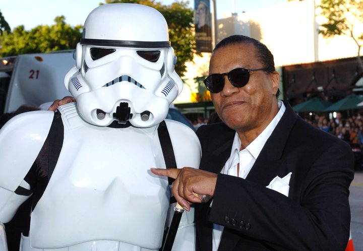 """Billy Dee Williams during """"Star Wars: Episode III - Revenge of The Sith"""" premiere."""