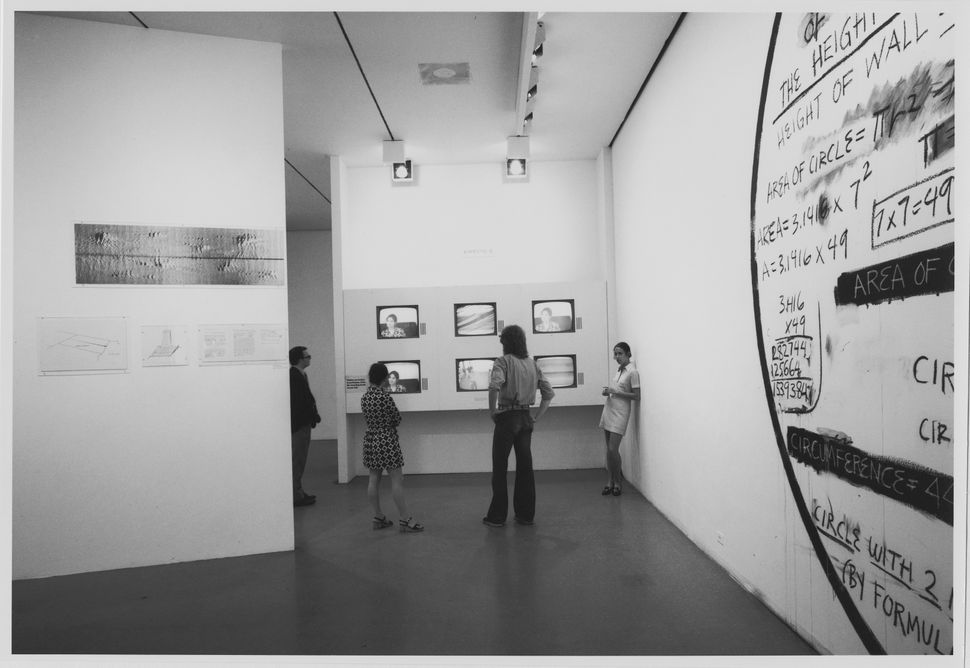 Installation view of the exhibition<i>Information</i>, on view July 2, 1970 through September 20, 1970 at The Museum of