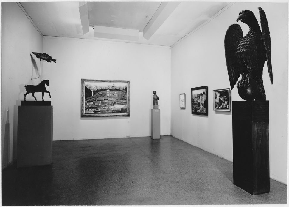 Installation view of the exhibition<i>The Museum Collection of Painting and Sculpture</i>, on view June 20, 1945 throug