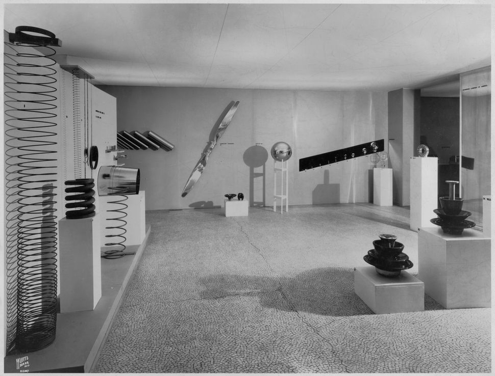 Installation view of the exhibition<i>Machine Art</i>, on view March 5, 1934 through April 29, 1934 at The Museum of Mo