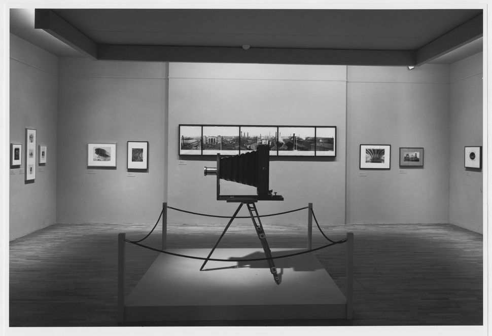 Installation view of the exhibition<i>Photography Until Now</i>, on view February 18, 1990 through May 29, 1990 at The