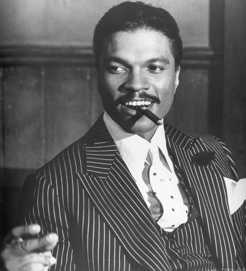 "Billy Dee Williams from the 1972 film ""Lady Sings the Blues."""