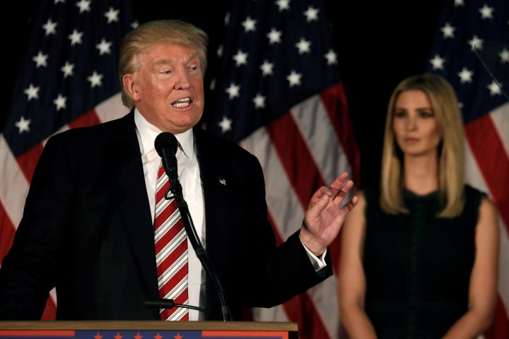 Ivanka and Donald Trump unveiled the nominee's maternity leave plan earlier this week in Aston, Pennsylvania.