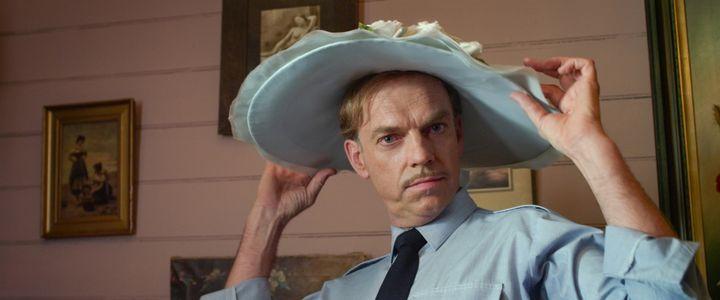 """Hugo Weaving stars in """"The Dressmaker,"""" opposite Kate Winslet."""