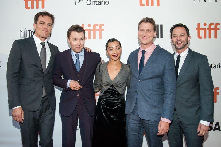 "Michael Shannon, Joel Edgerton, Ruth Negga, Jeff Nichols and Nick Kroll attend the ""Loving"" premiere at the Toronto Film Fest"