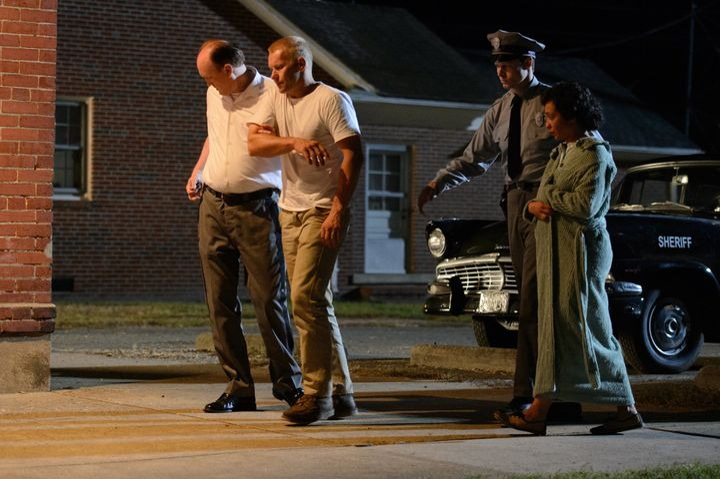 "Joel Edgerton and Ruth Negga star in a scene from ""Loving."""