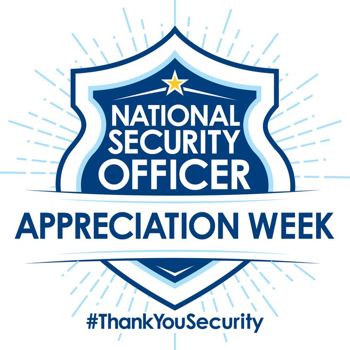 National Security Officer Appreciation Week is Sept. 18-24th 2016