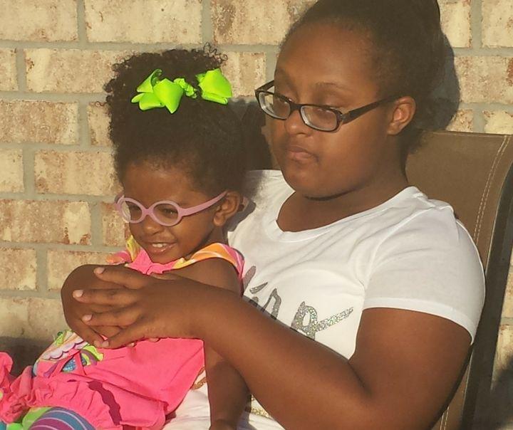 Allison Eloise (2) & Tayler Beth (14)