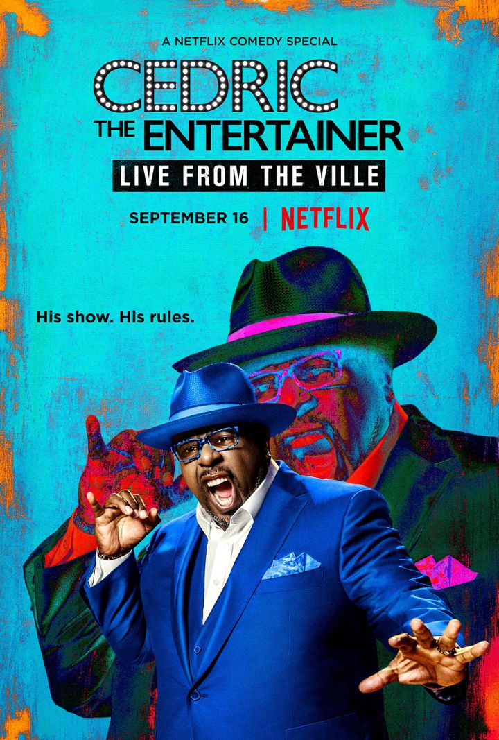 """Cedric the Entertainer: Live from the Ville"" premieres on Netflix Sept. 16."