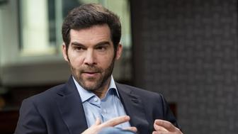 Jeff Weiner, chief executive officer of LinkedIn Corp., speaks during a Studio 1.0 interview in San Francisco, California, U.S., on Thursday, Feb. 25, 2016. LinkedIn Corp. operates a social networking website used for professional networking allowing members to post a profile of their professional expertise and accomplishments. Photographer: David Paul Morris/Bloomberg via Getty Images