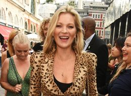 Kate Moss Shops Sustainably For Charlotte Tilbury LFW Party