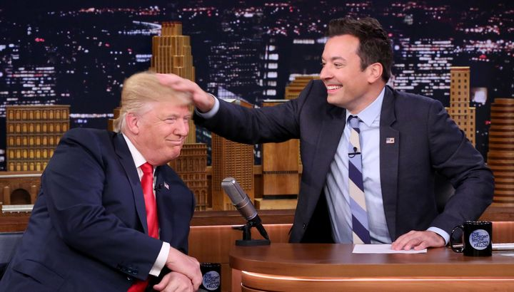 Watch 'Donald Trump' Turn Anchorman on Personal News Network on 'Fallon'