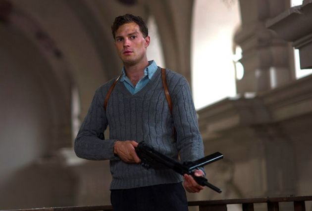 Jamie Dornan was delighted to be playing someone vulnerable -