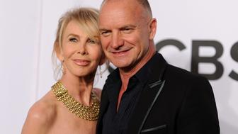 NEW YORK, NY - JUNE 08:  Recording artist Sting and actress Trudie Styler attend the 68th Annual Tony Awards at Radio City Music Hall on June 8, 2014 in New York City.  (Photo by Dimitrios Kambouris/Getty Images for Tony Awards Productions)