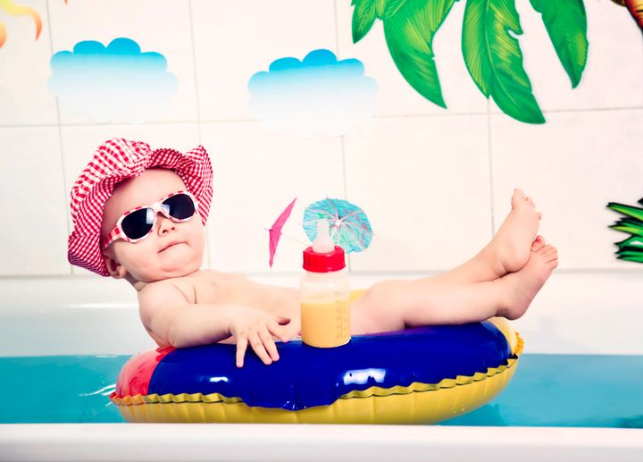 While this adorable baby might be postcard-perfect, will your kids grow up resenting the shots like this you post to social m