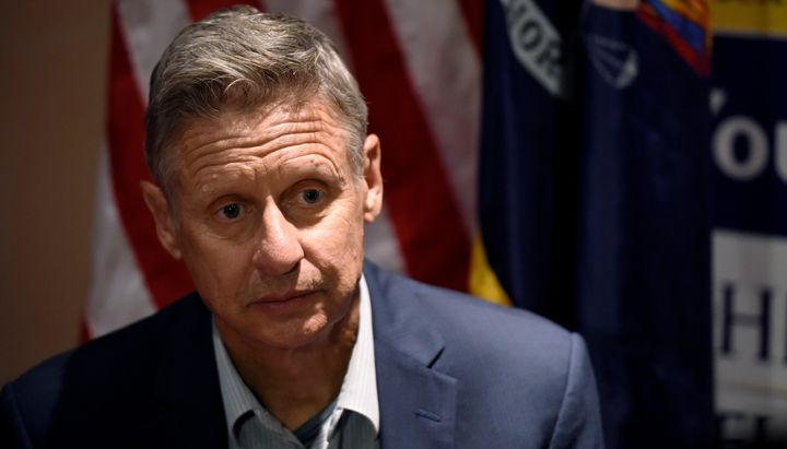 Libertarian presidential nominee Gary Johnson (above) and Green Party nominee Jill Stein were not invited to participate in f
