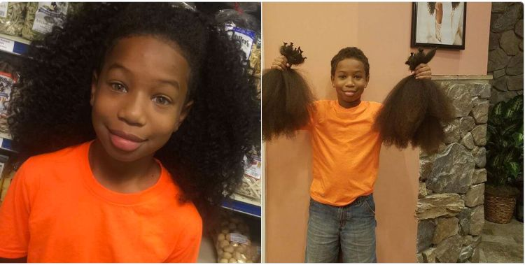 "Thomas Moore, a fifth-grader from Bowie, Maryland, <a href=""http://www.huffingtonpost.com/entry/thomas-moore-10-grew-hair-2-y"