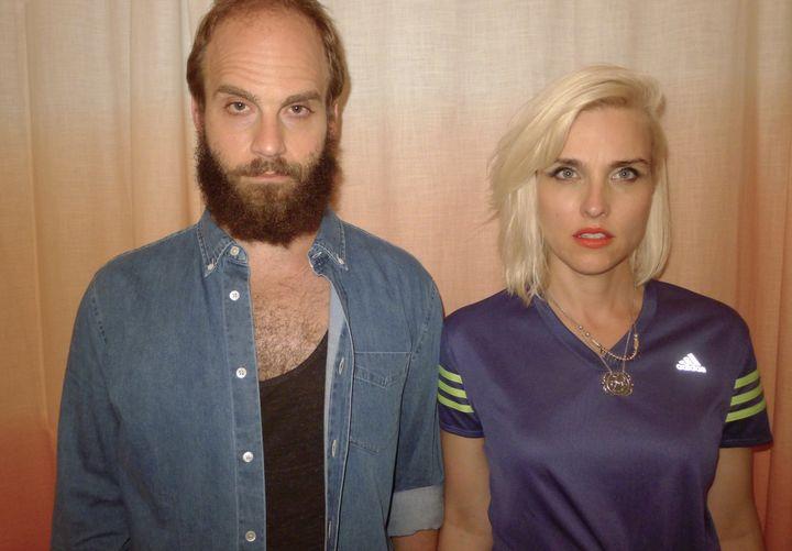 Ben Sinclair and Katja Blichfeld