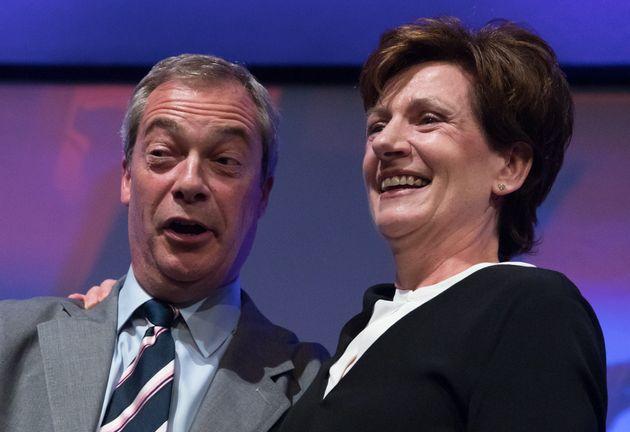 Farage congratulates new Ukip leaderDiane
