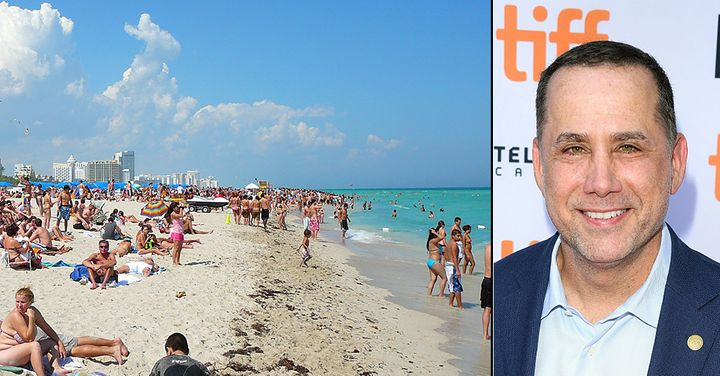 Mayor Phillip Levine in Toronto for film festival while residents protested Naled spraying during this week's Miami Beach com