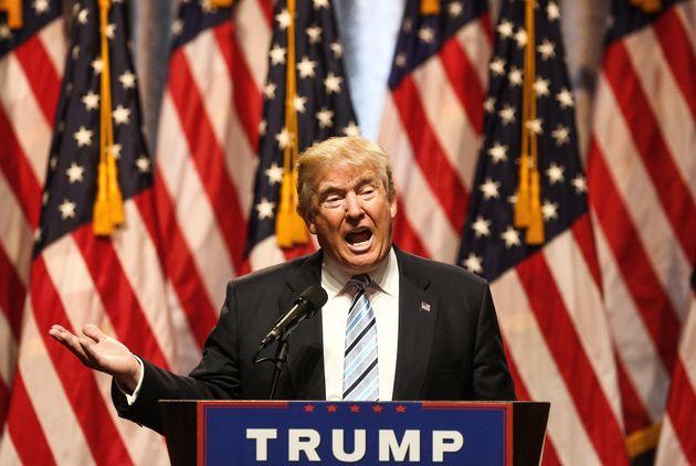Trump behavior like male chimp